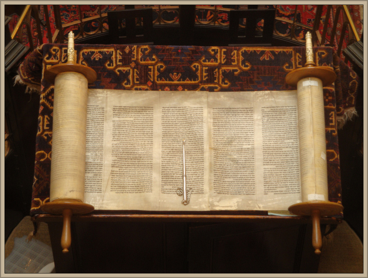 The Torah by Flickr User Lawrie Cate, CC License = Attribution