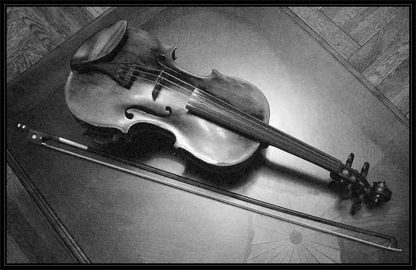 Violin by Irena Romendik