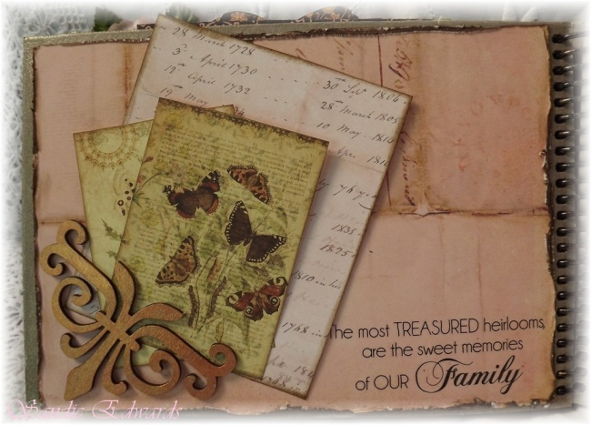 Family Memory Album by Flickr User Sandie Edwards--CC License = Attribution