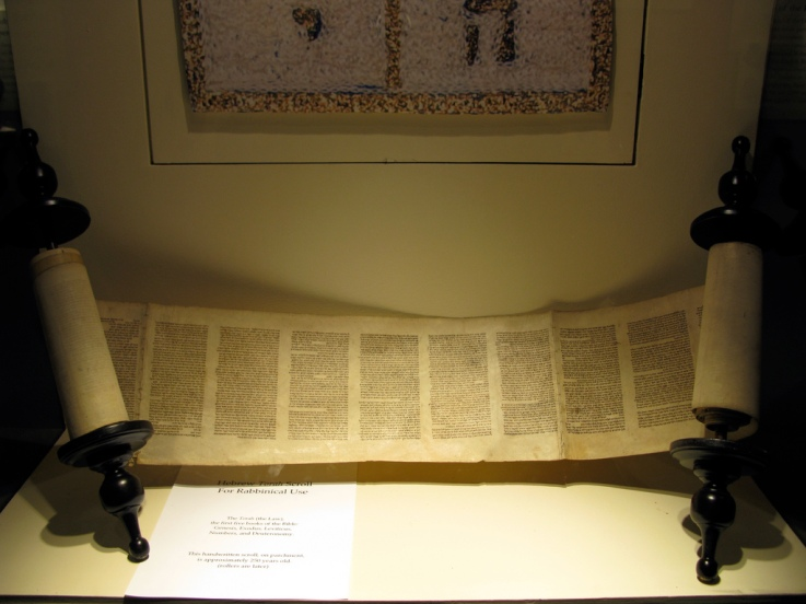 Torah Scroll image from wynnie at Flickr