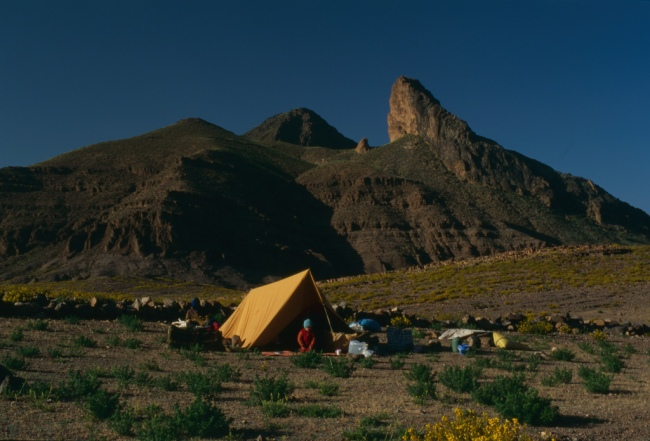 Campsite by Flickr User mm-j, CC License = Attribution, Noncommercial