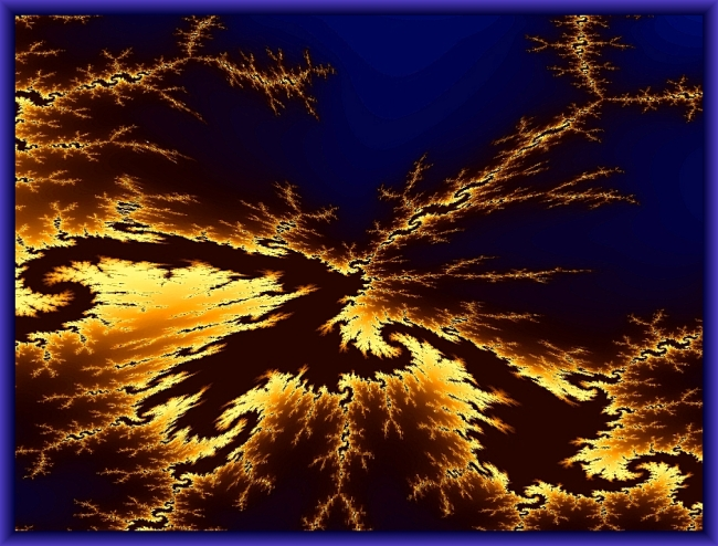 Golden Fractal Lightning by Crystal A Murray, CC License = Attribution, Noncommercial, Share Alike