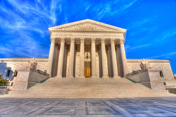 Supreme Court by Flickr User Envios, CC License = Attribution, Noncommercial, No Derivative Works