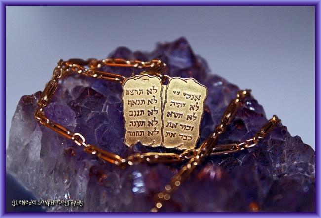 Ten Commandments by Flickr User Glen Edelson, CC License = Attribution