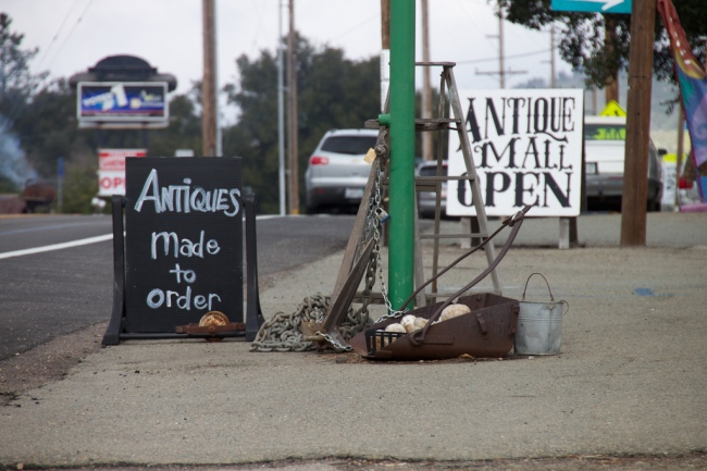 Antiques Made to Order by Flickr User tuchodi, CC License = Attribution