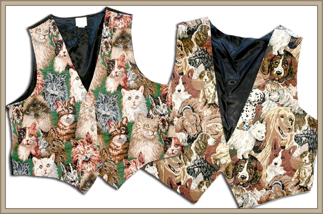 Cute Vests by Flickr User TheUglySweaterShop, CC License = Attribution