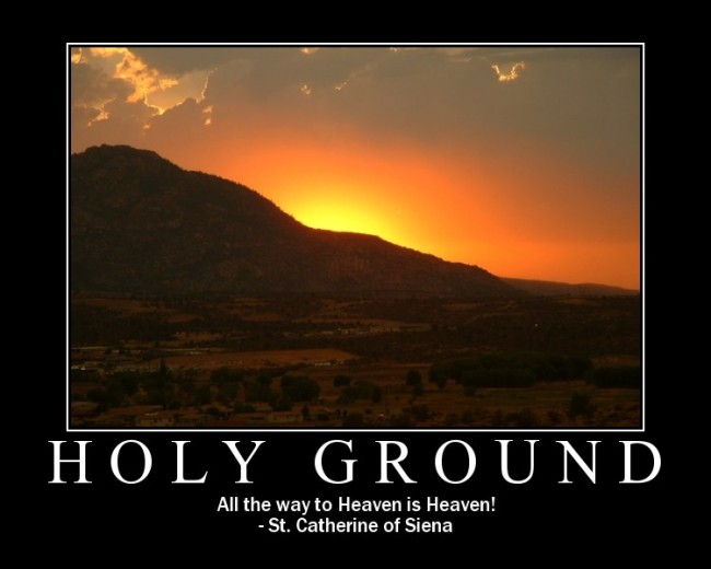 Holy Ground by Flickr User Roger Lynn, CC License = Attribution, Noncommercial, Share Alike