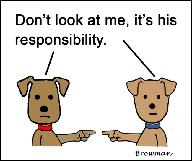 Not My Responsibility by Flickr User Jean Browman aka cheerfulmonk, CC License = Attribution, Noncommerical, Share Alike