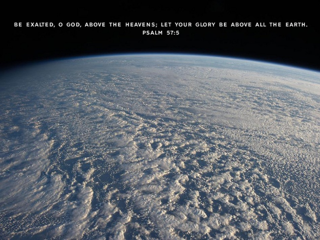 Above the Earth by Flickr User thoughtquotient.com, CC License = Attribution, Noncommercial, No Derivative Works