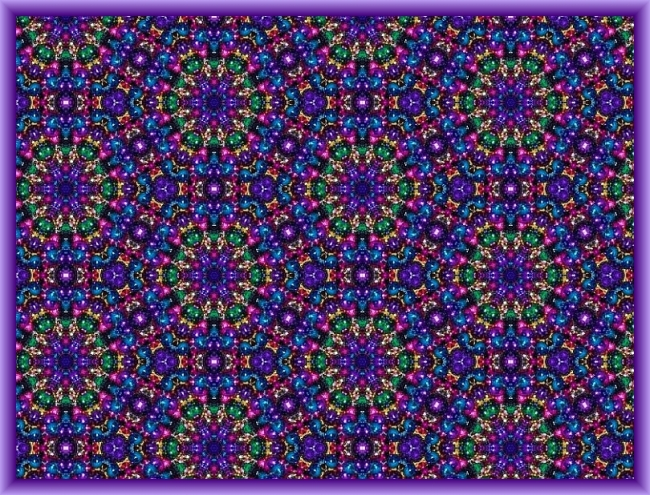Bead Kaleidoscope for Fat Tuesday by Crystal A Murray, CC License = Attribution, Noncommercial, Share Alike