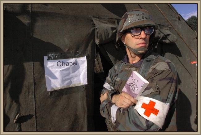 Preacher Man by Flickr User familymwr (U.S. Army), Photo by MSGT Dale Atkins, CC License = Attribution