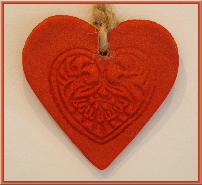 Salt Dough Heart by Flickr User Elin B, CC License = Attribution