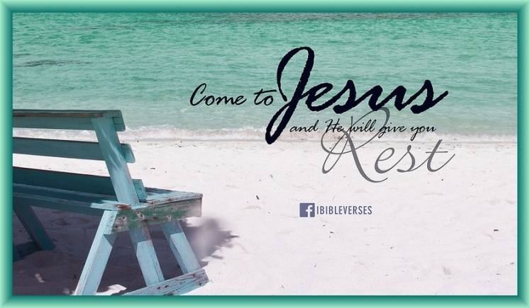Jesus is the Rest by Flickr User jubileelewis, CC License = Attribution