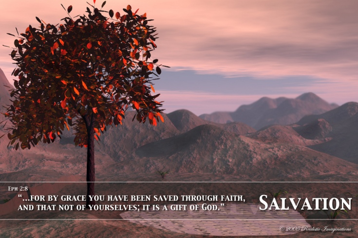 Salvation Poster by Flickr User Realistic Imaginations, CC License = Attribution, Noncommercial, No Derivative Works Click image to open new tab/window to view original image and to access user's full photo stream at Flickr.