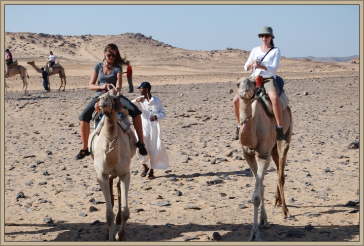 Camel Rides in Egypt by Flickr User Jeremy Jones, CC License = Attribution, Noncommercial