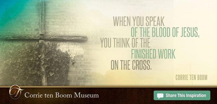 Finished Work of the Cross by Flickr User Corrie Ten Boom Museum, CC License = Attribution, Noncommercial, No Derivative Works