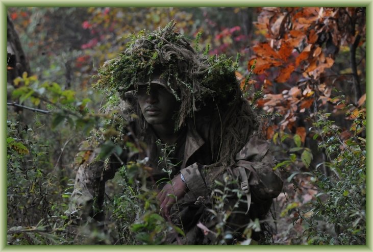 Scout Sniper by Flickr User DVIDSHUB, CC License = Attribution