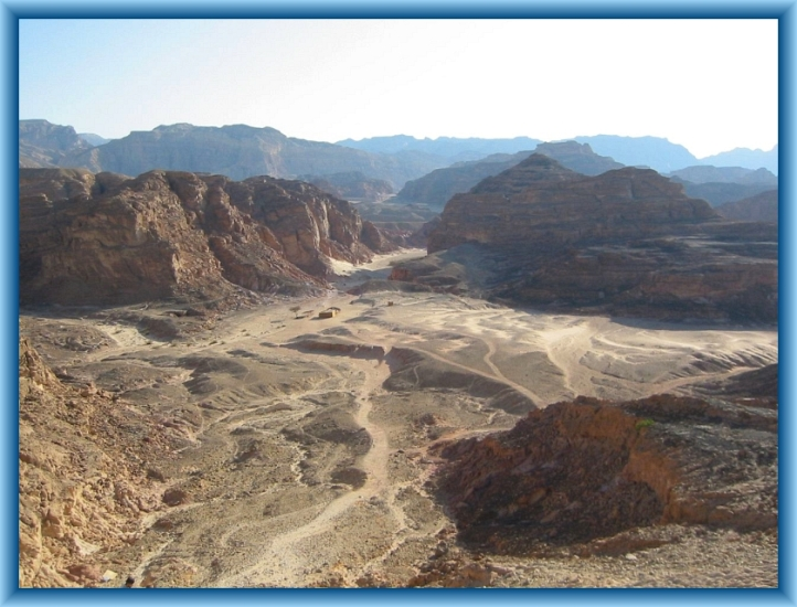 Sinai Desert by Flickr User Vyacheslav Argenberg, CC License = Attribution