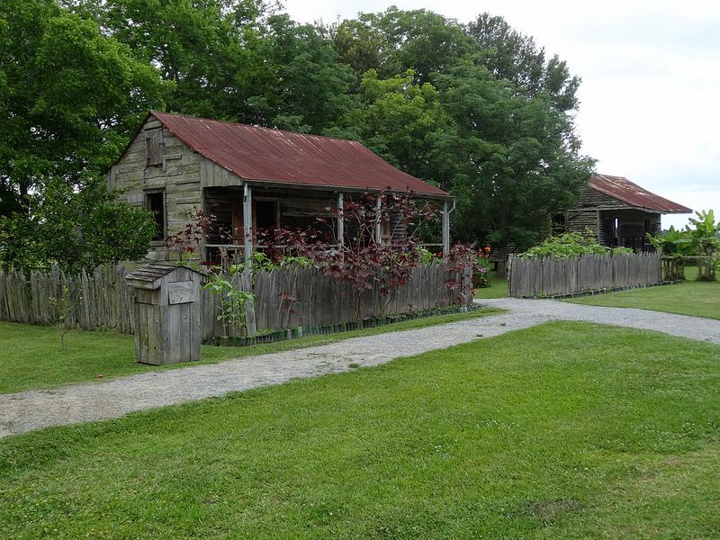 Slave Cabins in Tennessee by Flickr User denisbin, CC License = Attribution, No Derivative Works