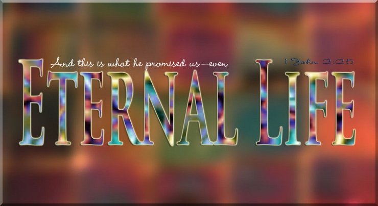 God Promises Eternal Life by Flickr User WELS net, CC License = Attribution, Noncommercial