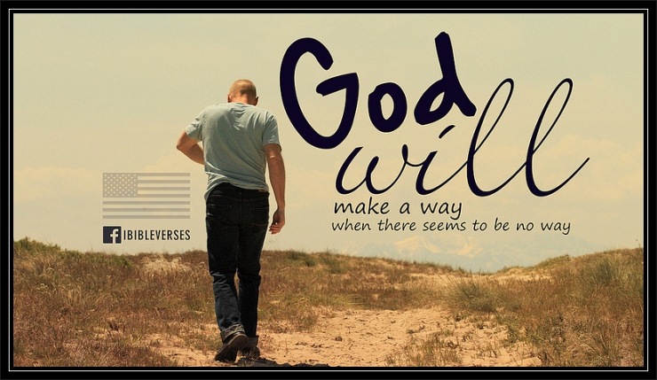 God Will Make a Way by Flickr User jubileelewis, CC License = Attribution