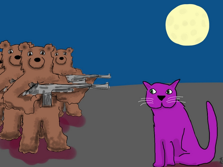 Right to Arm Bears by Flickr User David Abse aka Gary Socrates, CC License = Attribution, Noncommercial, No Derivative Works
