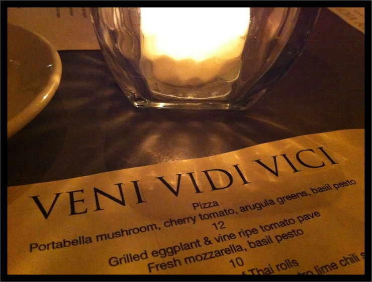 Veni Vidi Vici by Flickr User Boldly Wanderlust, CC License = Attribution, Noncommercial, Share Alike