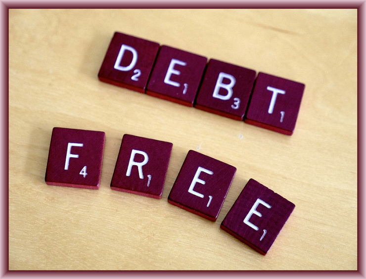 Debt Free by Flickr User Simon Cunningham, CC License = Attribution with Request to Link to Lendingmemo.com