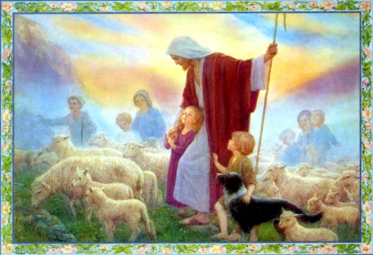 The Good Shepherd by Flickr User Waiting For The Word, CC License = Attribution