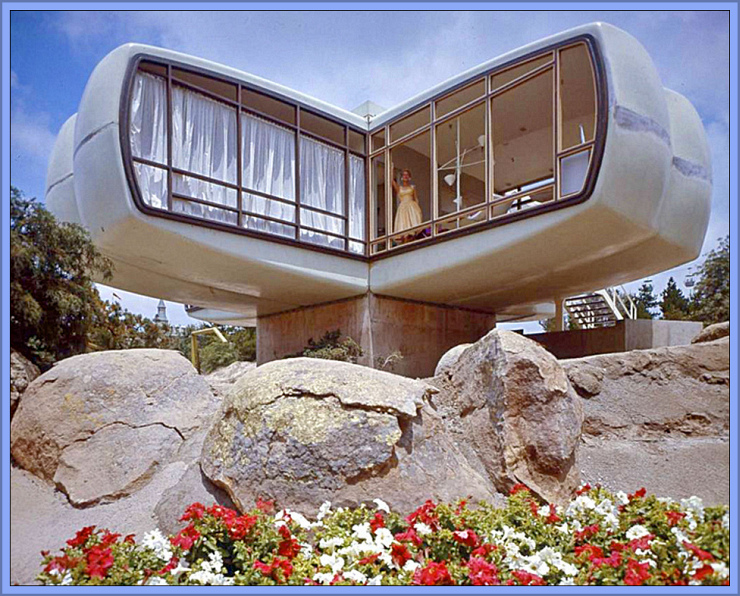 1957 House of the Future, Shared by Flickr User James Vaughn, CC License = Attribution, Noncommercial, Share Alike