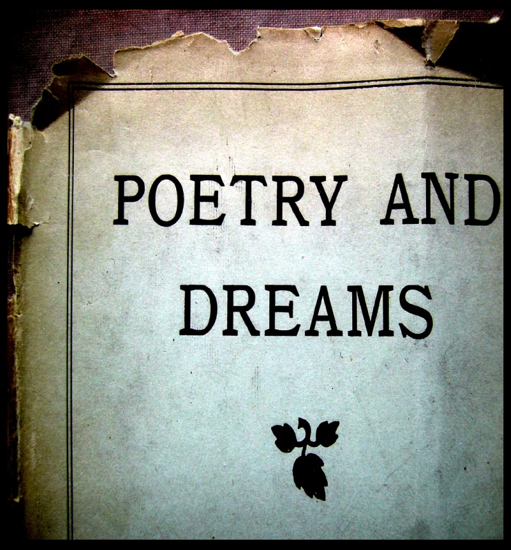 Poetry and Dreams by Flickr User Cher Amlo, CC License = Attribution, Noncommercial, Share Alike