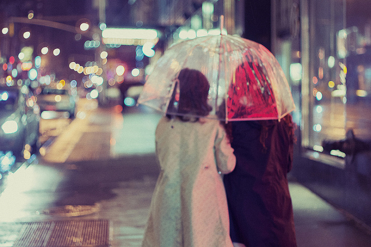 You Can Stand Under My Umbrella by Flickr User Linh H. Nguyen, CC License = Attribution, Noncommercial, No Derivative Works
