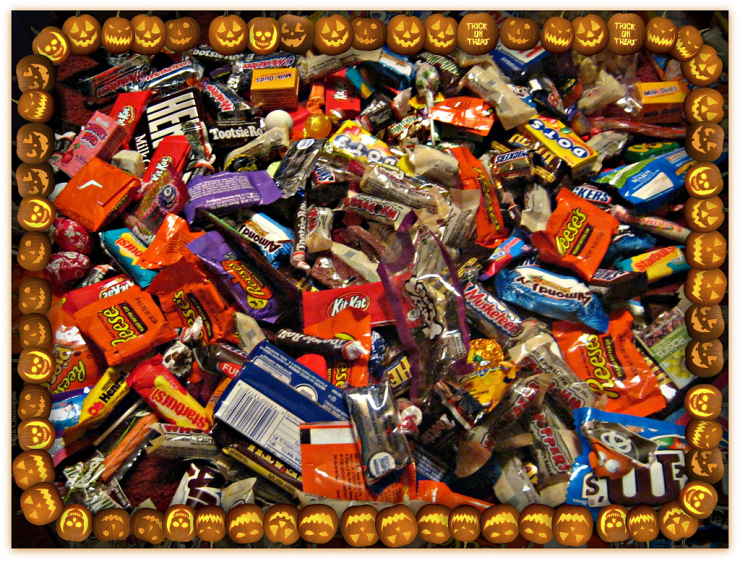 Candy, Candy, and more Candy by Flickr User kristymp, CC License = Attribution, No Derivative Works