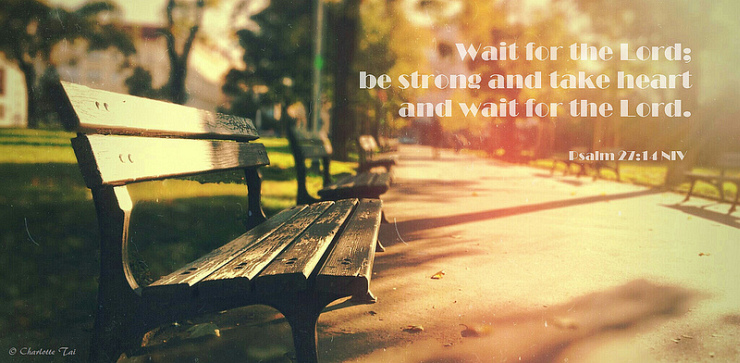 Wait for the Lord by Flickr User Charlotte90T, CC License = Attribution, Noncommercial, No Derivative Works