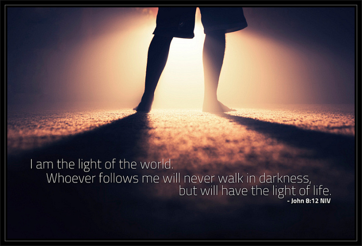 Following the Light by Flickr User Nathaniel Eldridge, CC License = Attribution, Noncommercial