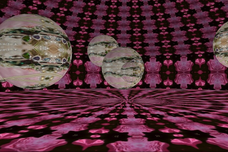 Mixed Kaleidoscope Images