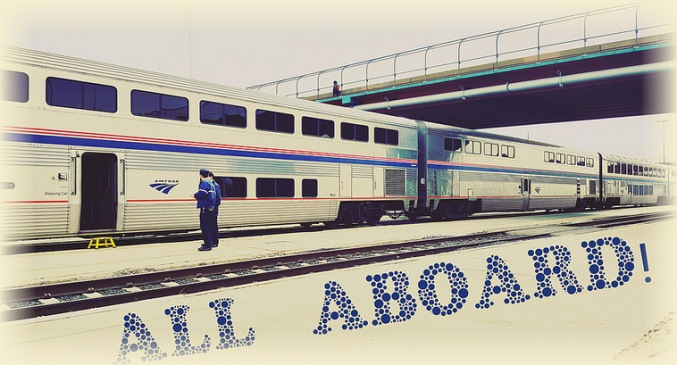 All Aboard--Amtrak Pic from 2018--No Frame